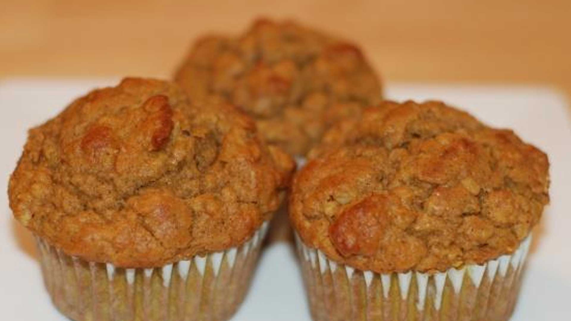 Pumpkin Oat Bran Muffins- Get Fueled Up for Your Personal Training Session