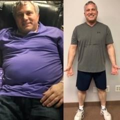 Mark has dropped 35 pounds