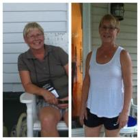 Robin from Bay Village lost 13 pounds and 6 inches She went from a size 10 to a size 6.